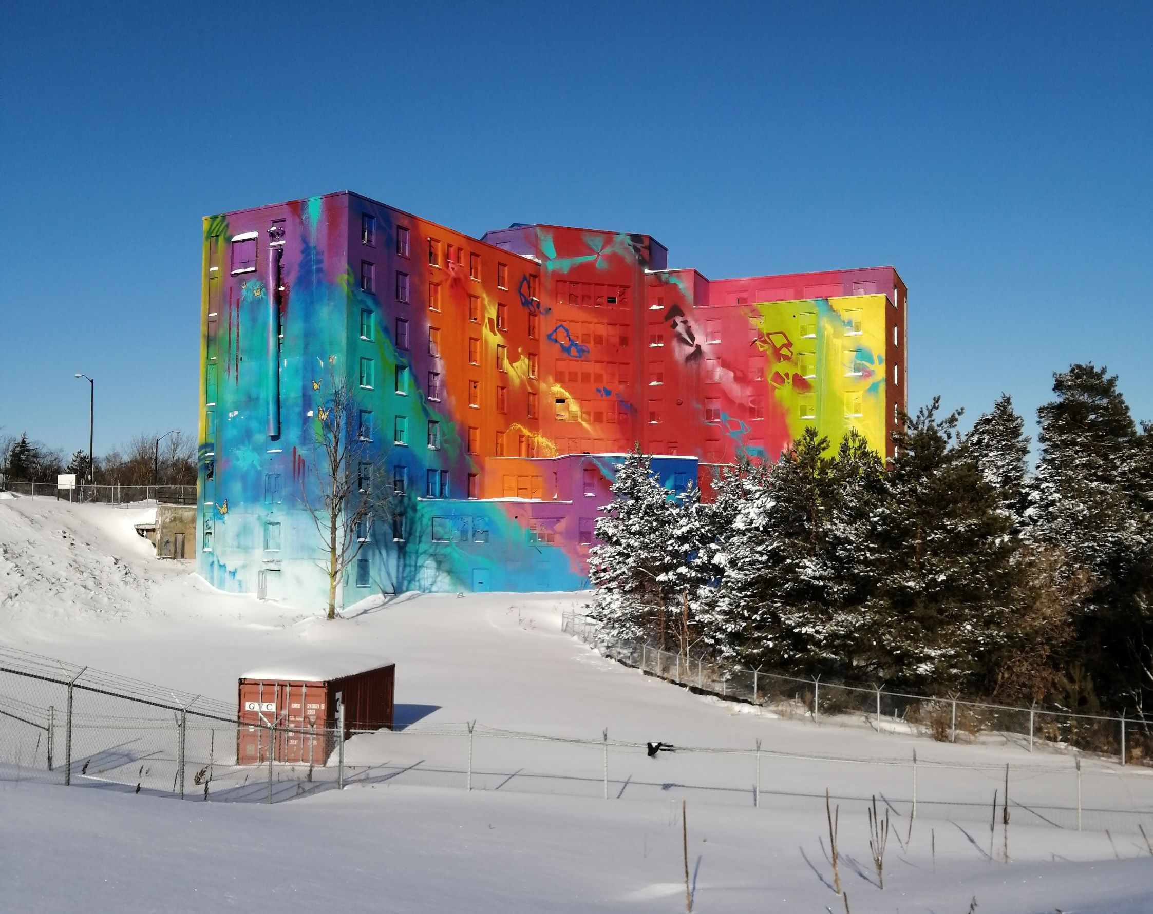 News: Update on Hospital Mural Writing Project