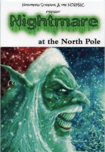 Poster for Nightmare at the North Pole